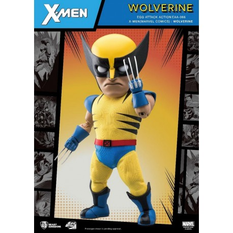 BEAST KINGDOM - MARVEL EGG ATTACK: WOLVERINE Edition Speciale