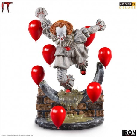 IRON STUDIOS - CA CHAPITRE 2 : PENNYWISE DELUXE ART SCALE 1/10