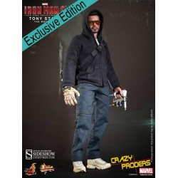 HOT TOYS - TONY STARK (The mechanic)  - EXCLU