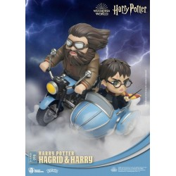 BEAST KINGDOM - HARRY POTTER - HAGRID ET HARRY DIORAMA PVC