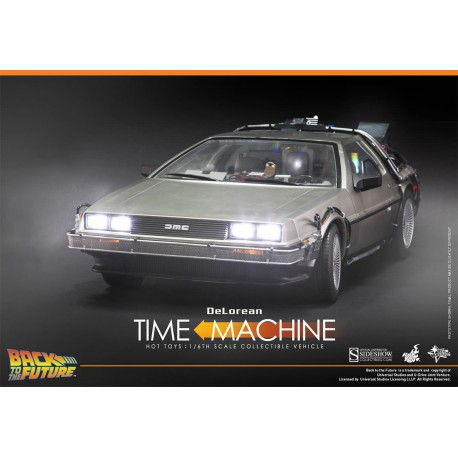 HOT TOYS - DELOREAN Retour vers le Futur 1/6